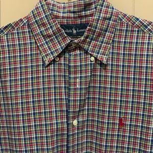 Men's Polo Ralph Lauren Button Down Size M
